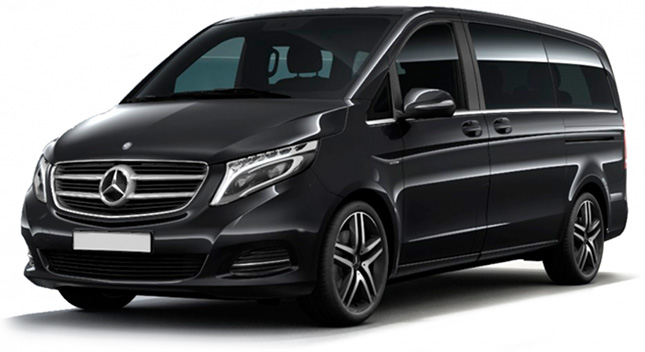 Alquiler Mercedes V Class con conductor